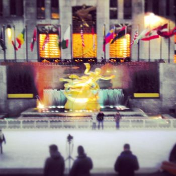 New York City - Rockefeller Center by TheDarkAbb