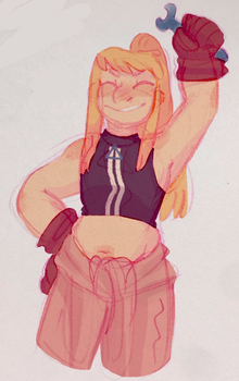 Winry for the win-ry by iLee-Font