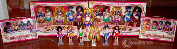 Sailor Moon Sera-Myu Dolls Collection by onsenmochi