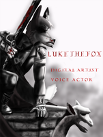 Luke the Fox I.D 2012: Arkham City Style by Luke-the-F0x