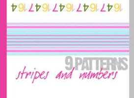 Stripes and numbers by timedrawer7