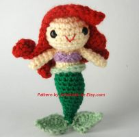 Disney's Ariel Amigurumi by janageek