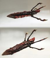 Tyranid Hive Ship by Olovni