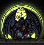 Goliath and Elisa - Gargoyles by djinn-world