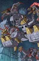 FOC dinobots colors low res by BDixonarts