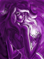purple, purple everywhere... by QueenGalaxia