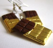 Miniature Food - Chocolate Bar by PetitPlat
