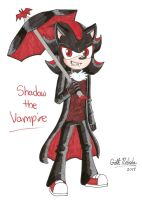 Werehog's Roommate: Shadow the Vampire by GothNebula