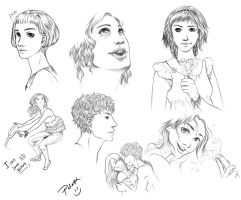 wacom sketches by palnk