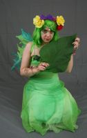 Leaf fairy 17 by MajesticStock