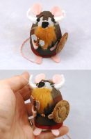 Varmod Catcrusher Viking Mouse by The-House-of-Mouse