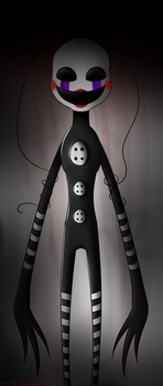 Five night at Freddy's - The Puppet by SisterOfBlood