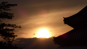 Wallpaper - Matsumoto Sunset by LordNobleheart