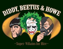 Diddy, Beetus and Howe by MBrazee