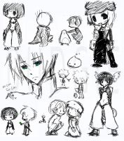 MSN RO Paintchat Doodles by sambees