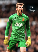 David De Gea by Tautvis125