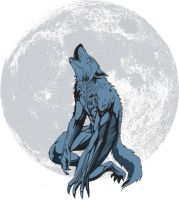 Blue Wolf by GeorgeLiquor