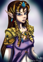 Day 22 - TP Zelda by CelticMagician