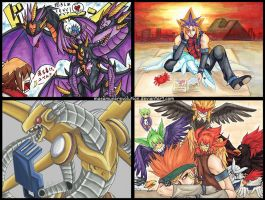 YGO GX + 5D's + 5DX by MasamuneRevolution