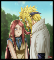 Minato and kushina by Kasukiii