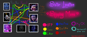 SL Shipping Meme (thoughts in the desc.) by CQ-Draws-FNaF