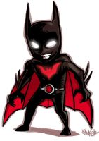 Little : batman beyond by ChickenzPunk