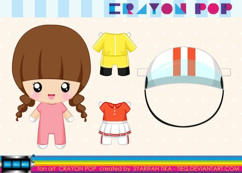 Crayon Pop Wardrobe by tieq