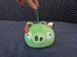 King Piggy with sound plush by Gallade007