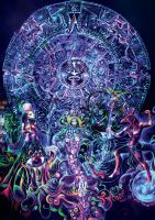Psychedelic Mandala, The Gate by jlof