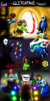 Glitchtale Season 1 Poster! by CamilaAnims