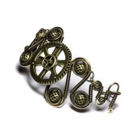Steampunk Gear Bracelet by CatherinetteRings