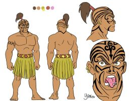 Maori-Based ATLA Design by Yamino