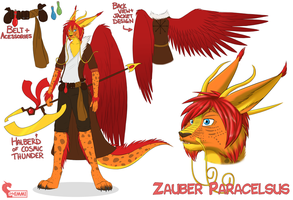 Ref: ZauberParacelsus by ShimmiDragon