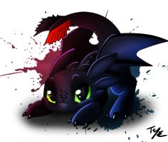 Sync Toothless by Tenynn