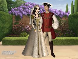 The Tudors: Snow White and Prince Charming Wedding by moonprincess22