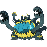 Guzzlord: Dark and Dragon type