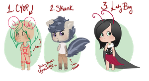 [OPEN] People-ish Adopts by EventidePonies