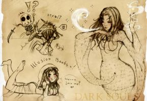 Dark Souls Doodles Nr.2 by J-J-Joker