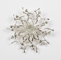 Water Ballets Brooch by SeldaOkutan