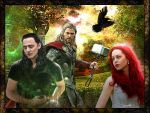 The legend of Loki and Sigyn - 8 by turlena08