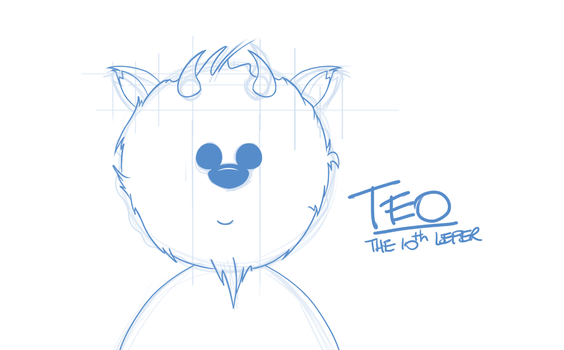 Teo - The 10th Leper Mascot by richardhaddadau