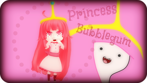 .:Princess Bubblegum:. by capricova