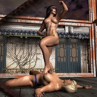 05 Amika vs Chanel Second Fight 316 by CalvadosJapan