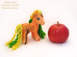 Applejack remix custom by padawanclaramel