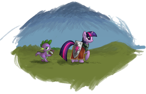Twilight's Quest - coloured by Shinobody