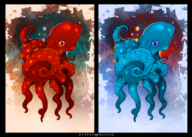 Octohands by FoxInShadow