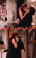 Grace on Karen Action. by MiniMullally