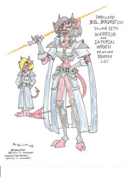 Bel Brimston, Sith Warrior! by gothold