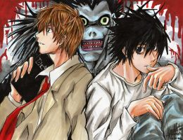 :DEATH NOTE: by kinjiru006
