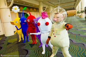 Pikmin Group by negativedreamer